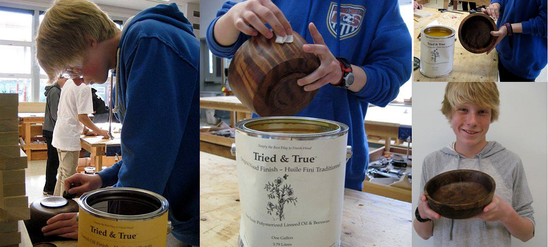 McKinleyville Middle School Woodshop Projects - Tried & True