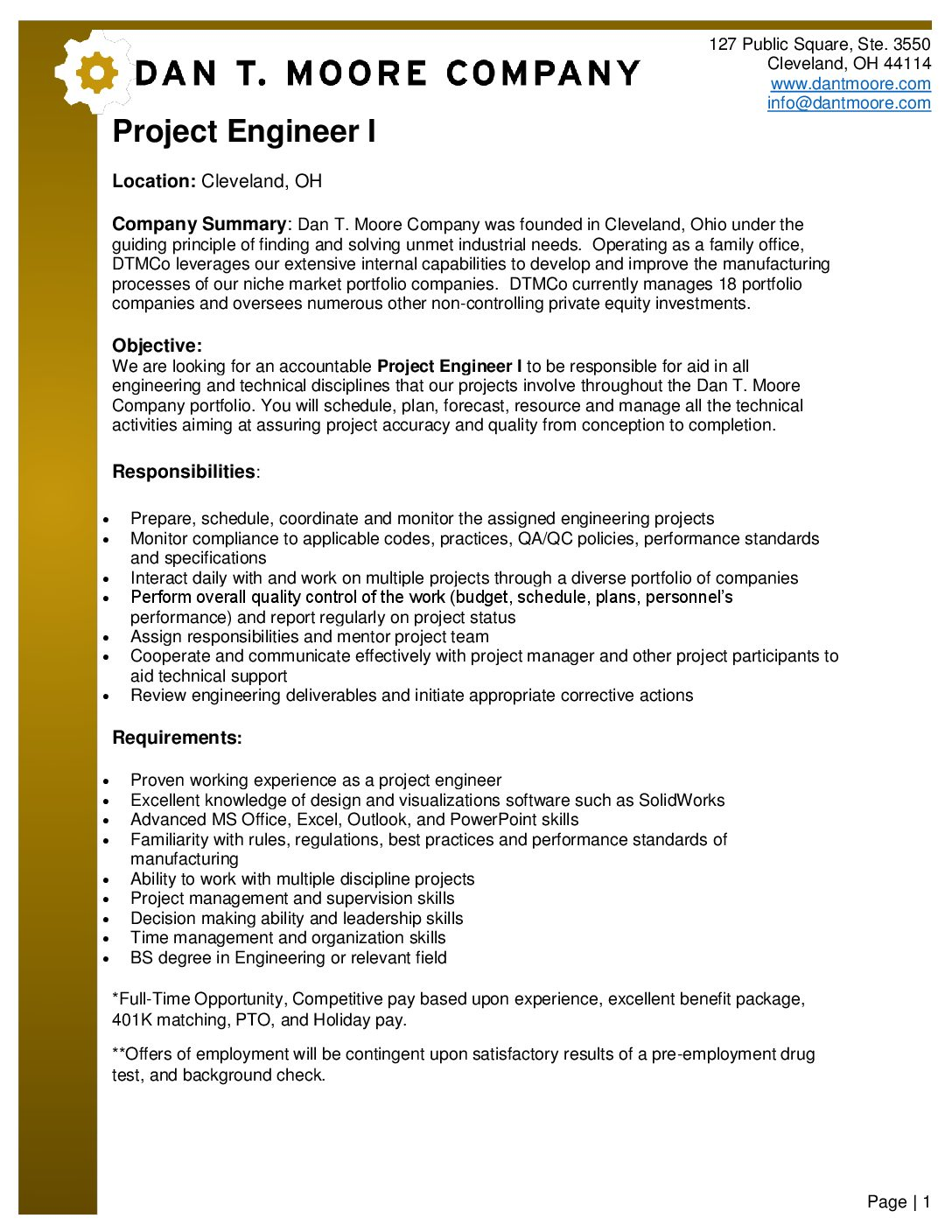 Project-Engineer-I