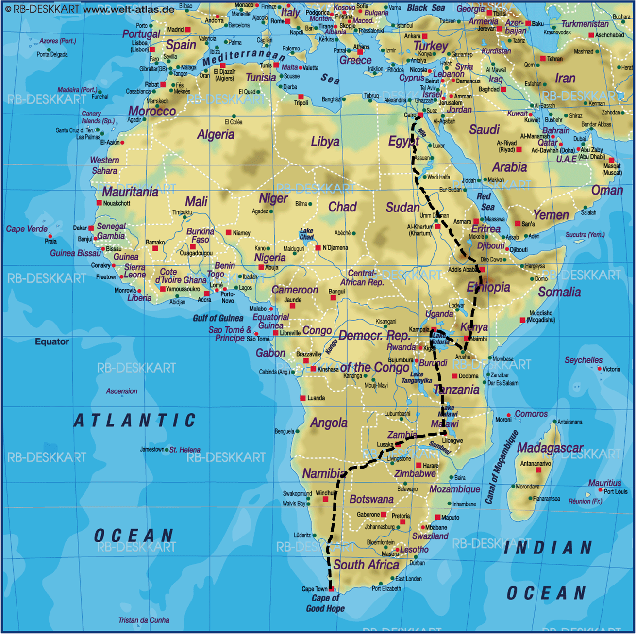 cape_to_cairo_approx_route