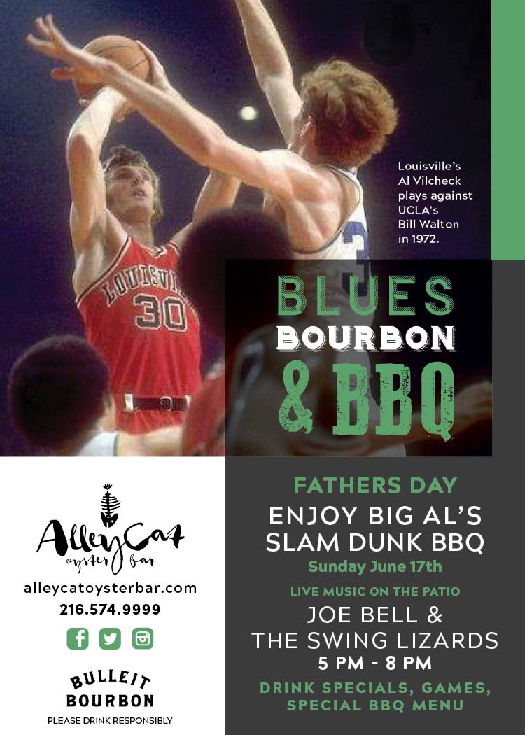 Blues Bourbon & BBQ at Alley Cat Oyster Bar