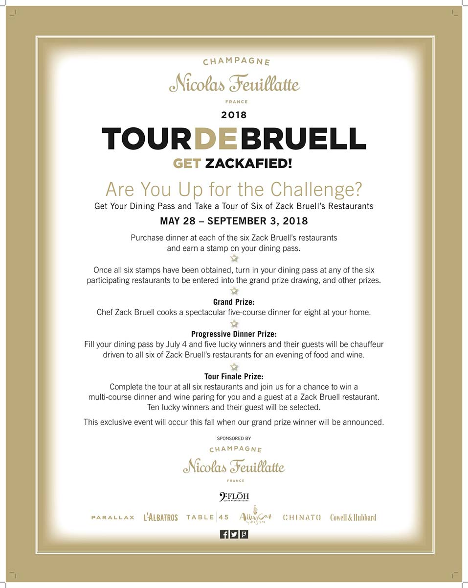 2018 Tour De Bruell Restaurant Tour Cleveland