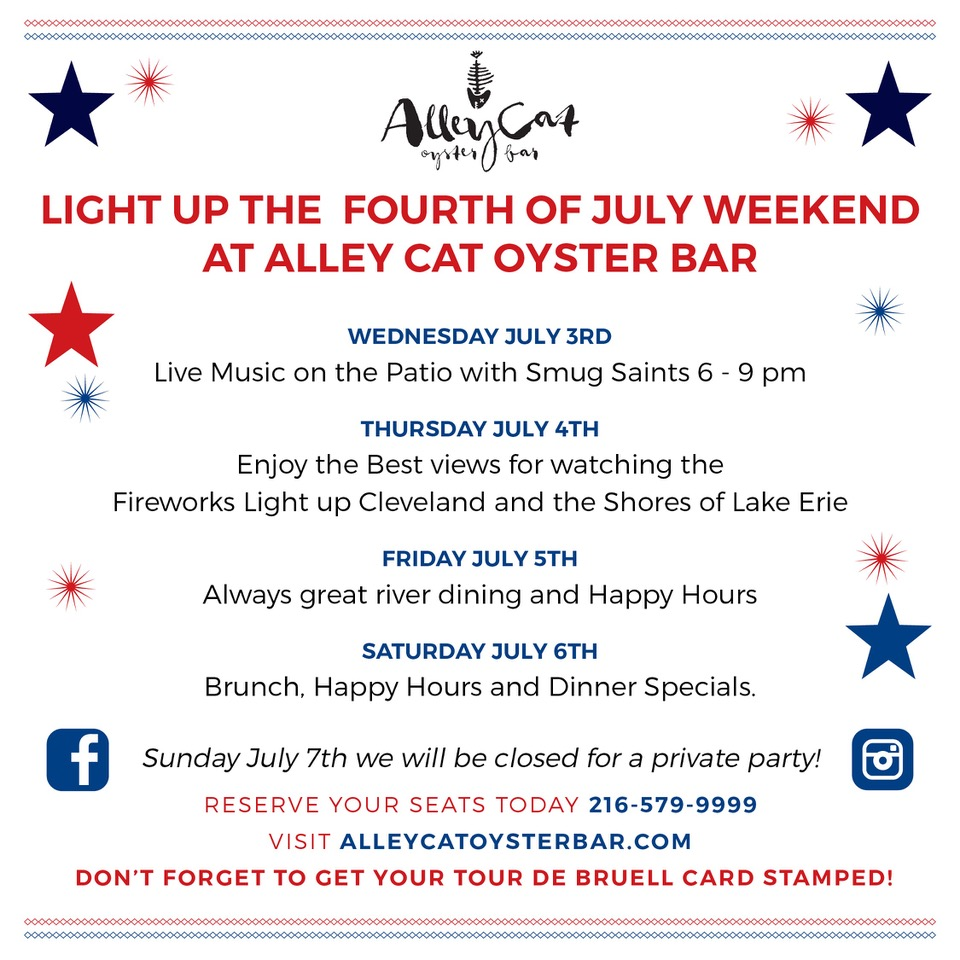 Alley Cat Oyster Bar 4th of July Party