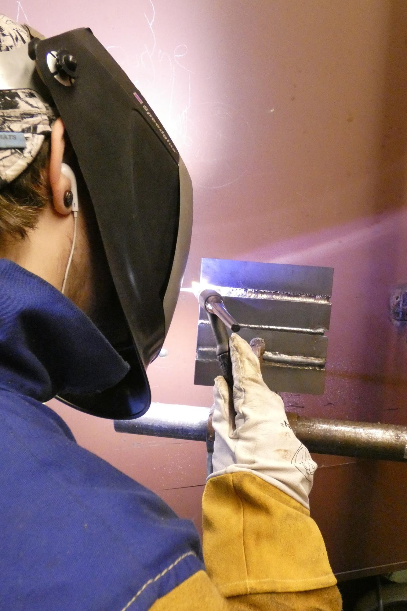 Dayton GTAW welding