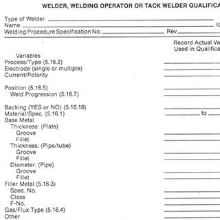 AWS D1.1 Sample