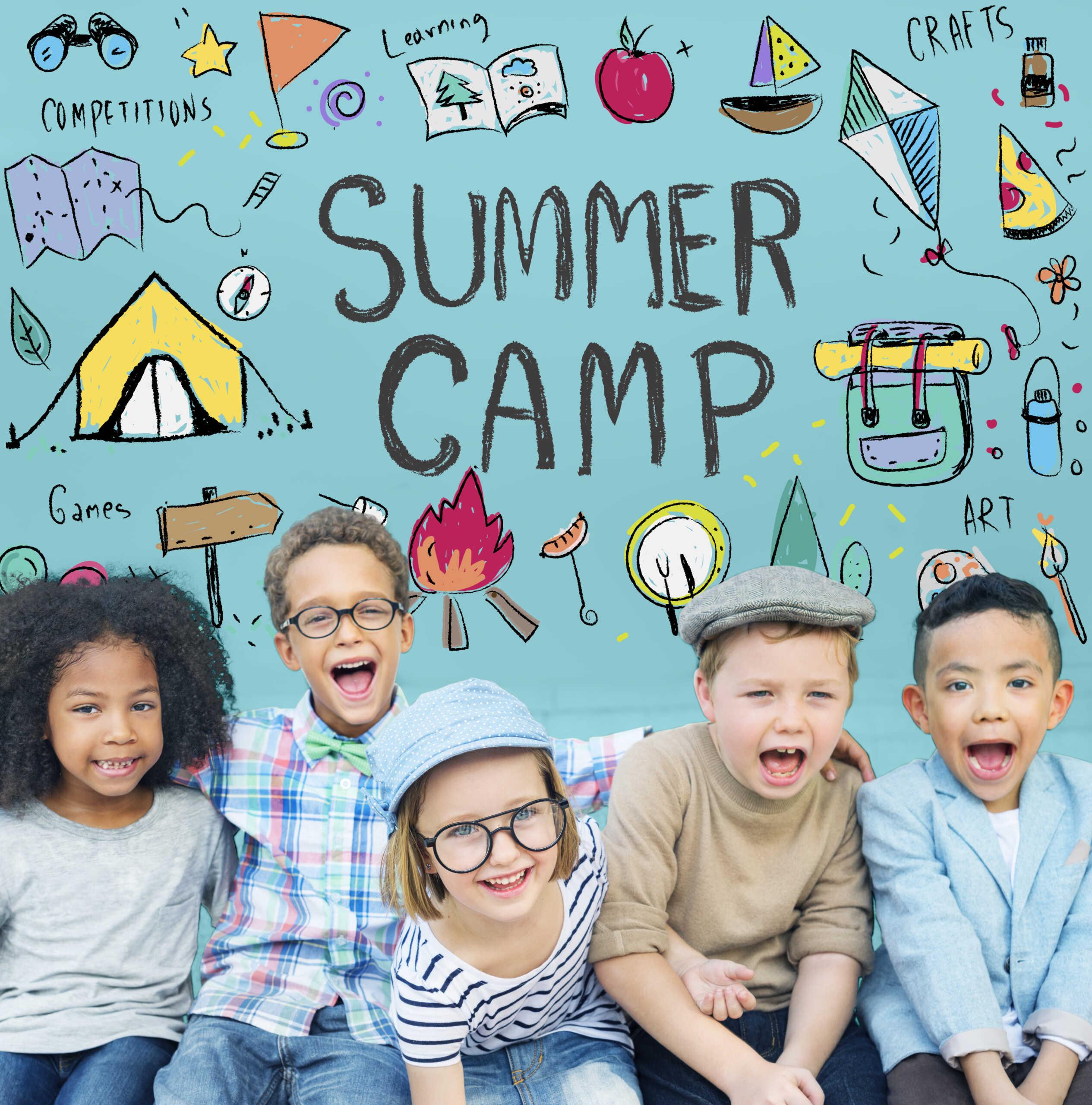 Brecksville summer camp kids
