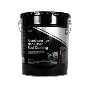 ALCM Aluminum Non Fiber Roof Coating