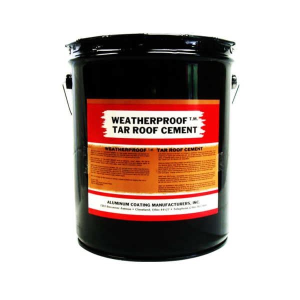 ACLM Tar Roof Cement