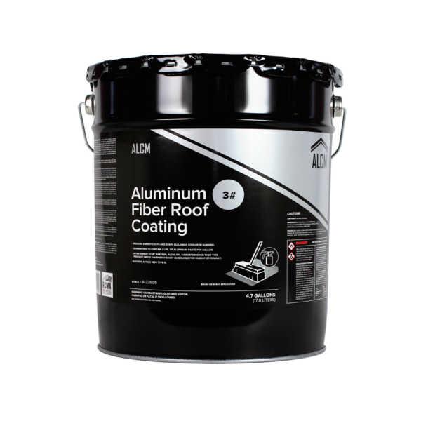 ACLM Aluminum Fiber Roof Coating