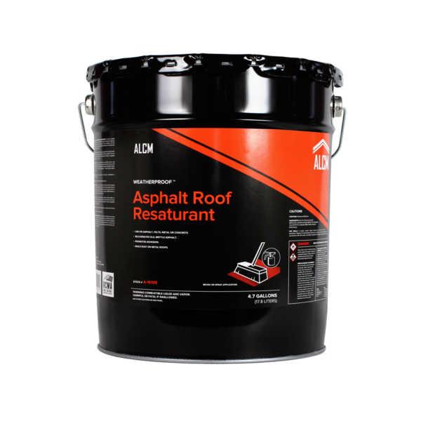 ALCM Asphalt Roof Resaturant