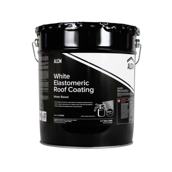 ACLM White Elastomeric Coating (Water Based)