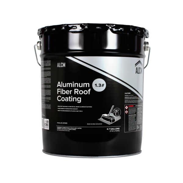 ACLM Aluminum Fiber Roof Coating 1.3