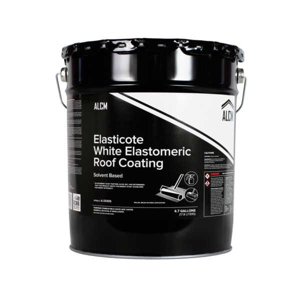 ACLM Elasticote White Elastomeric Roof Coating