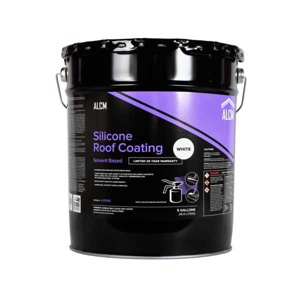ACLM Silicone Roof Coating White