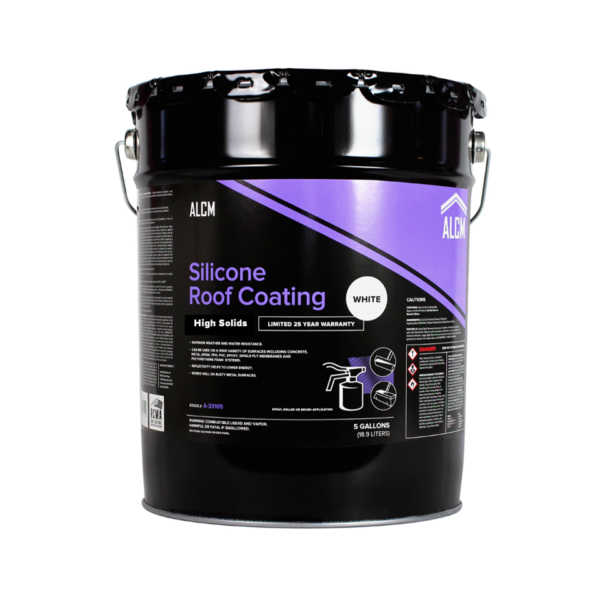 ACLM Hi Solids Silicone Roof Coatings