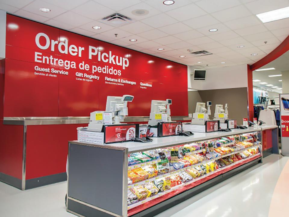 Target Order Pick Up Build Out