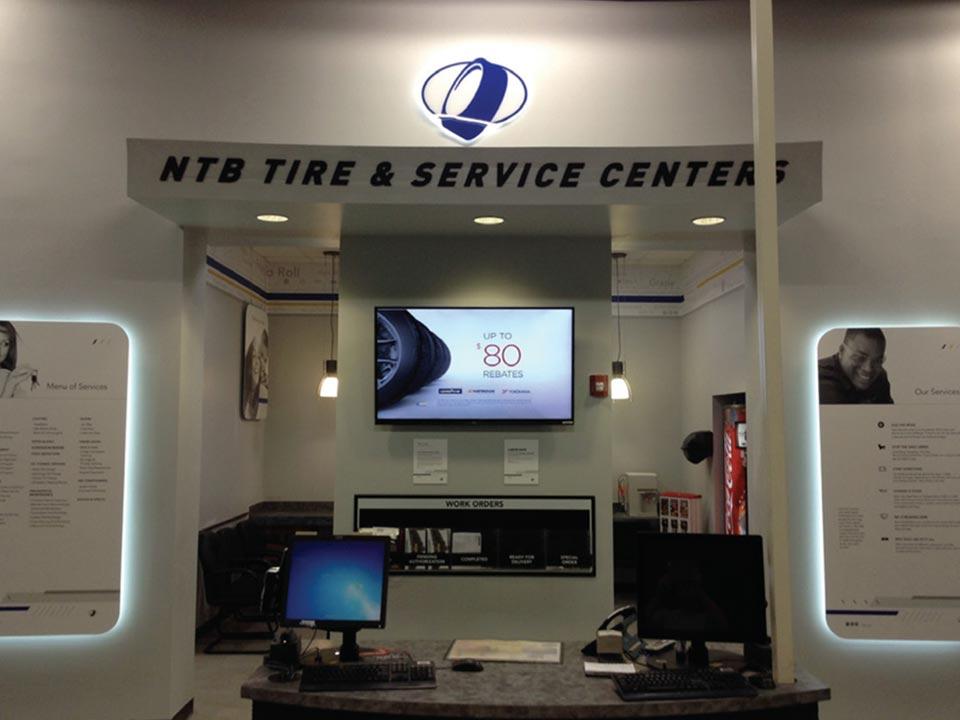 NTB Interior Customer Service Area