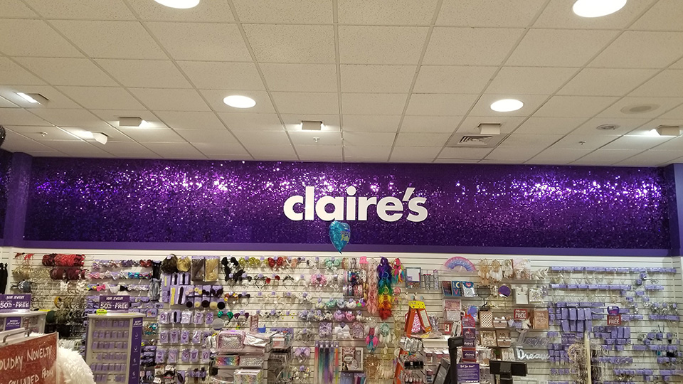 Claires Store Renovation