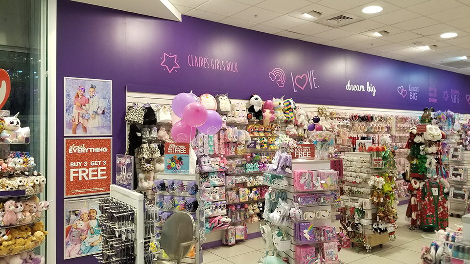 Claires Store Renovation 3