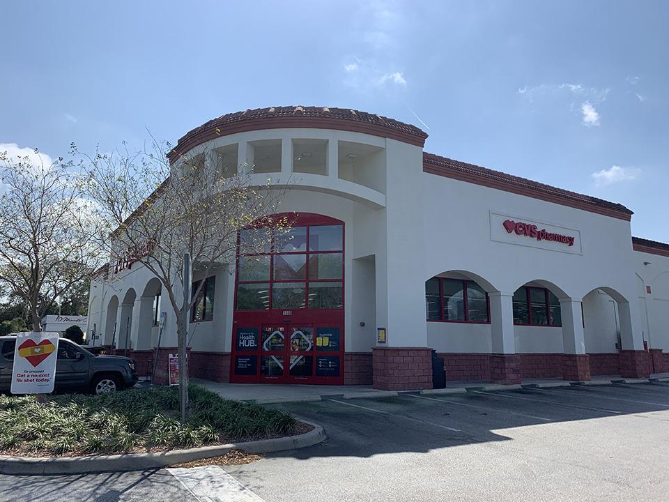 CVS Exterior Entrance Renovation