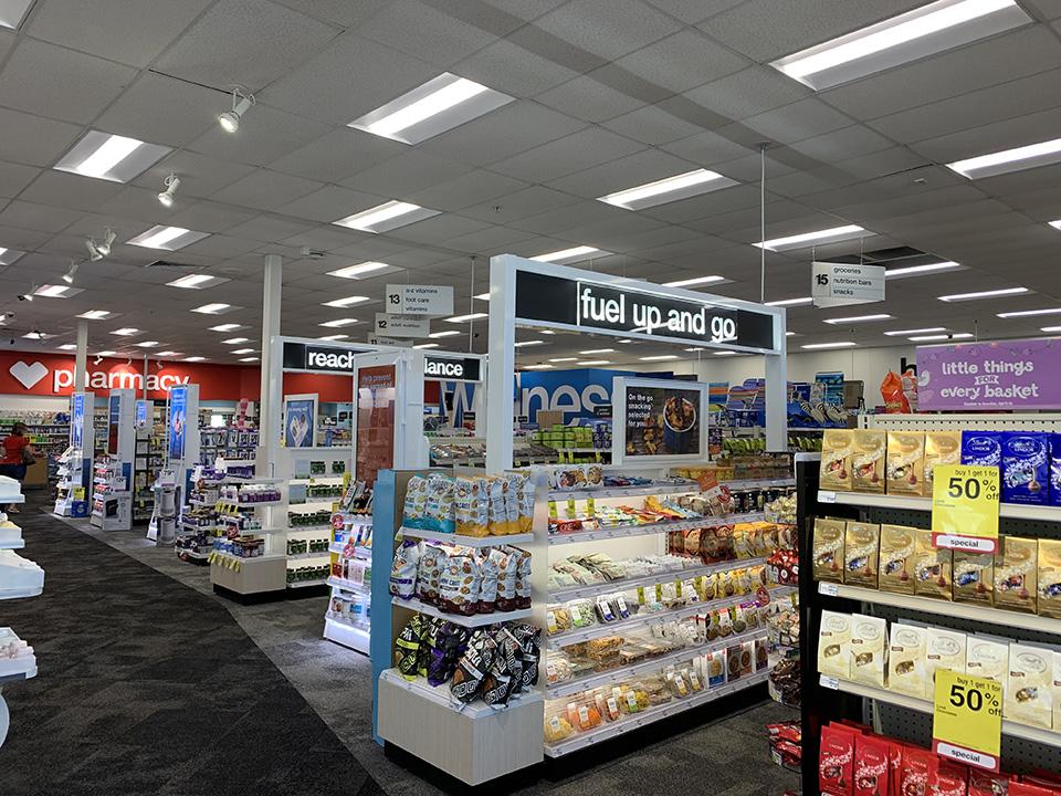 CVS Interior Renovation Shelves