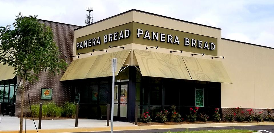 Panera Bread Exterior Renovation