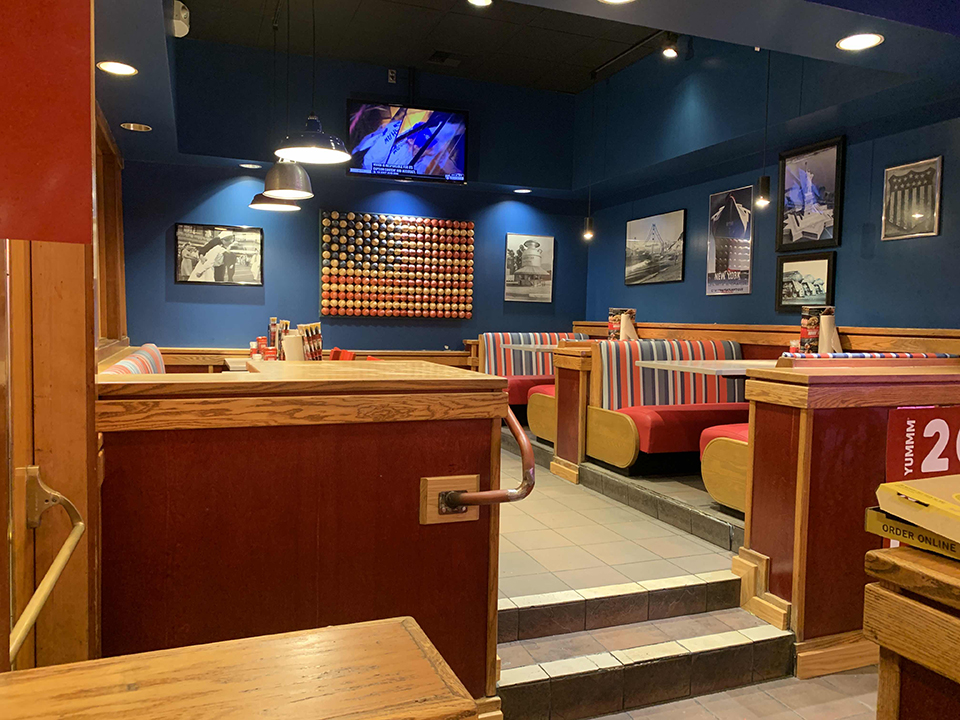 Robin Interior Dining Area renovation