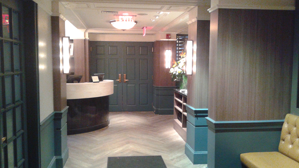 Ruth Chris Reception Build OUt