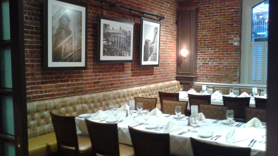 Ruth Chris Dining Room Build OUt