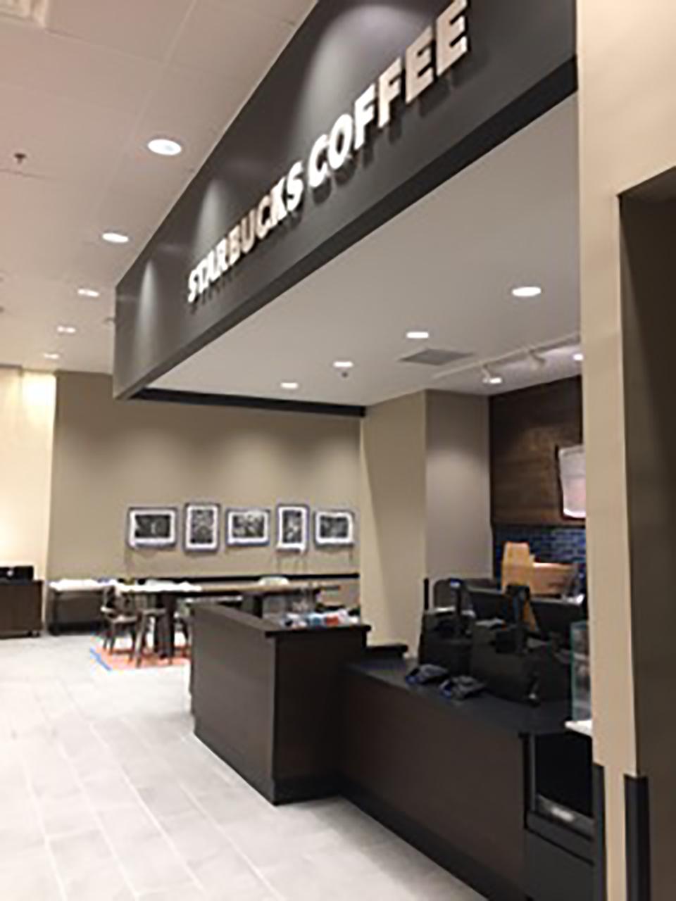 Starbucks Seating Area