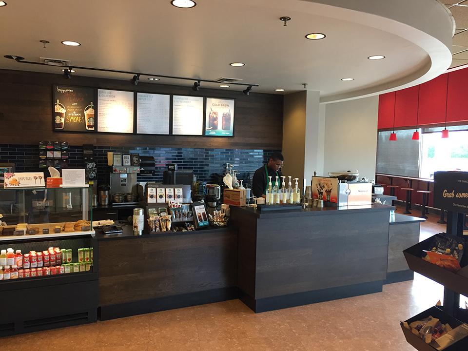 Starbucks Counter Target