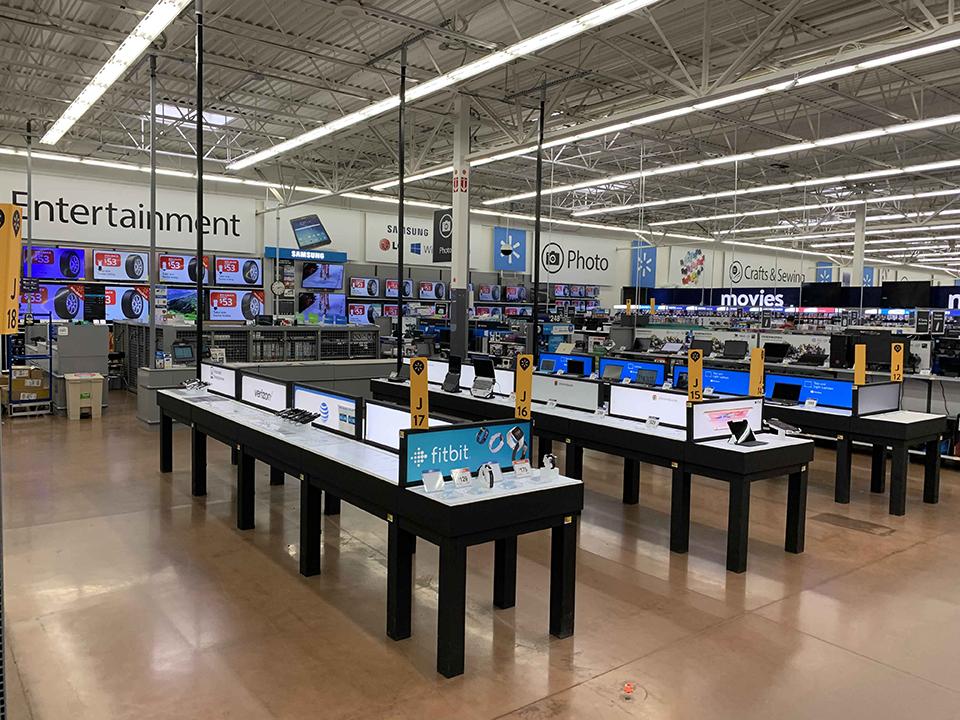 Walmart Electronics Dept