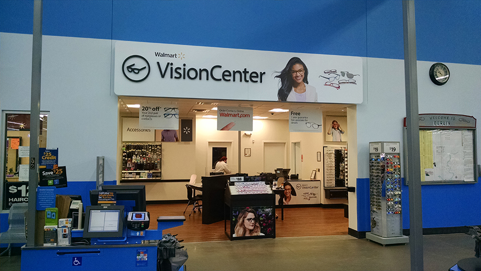 Wal-Mart Vision Center Looking In