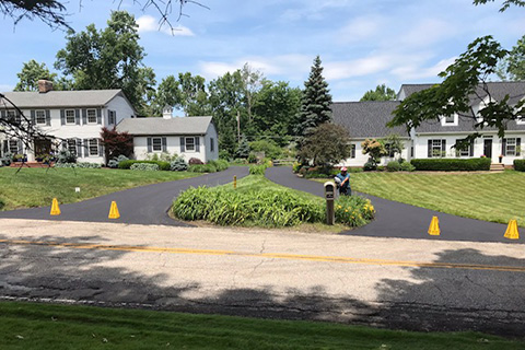 residential asphat driveway paving2